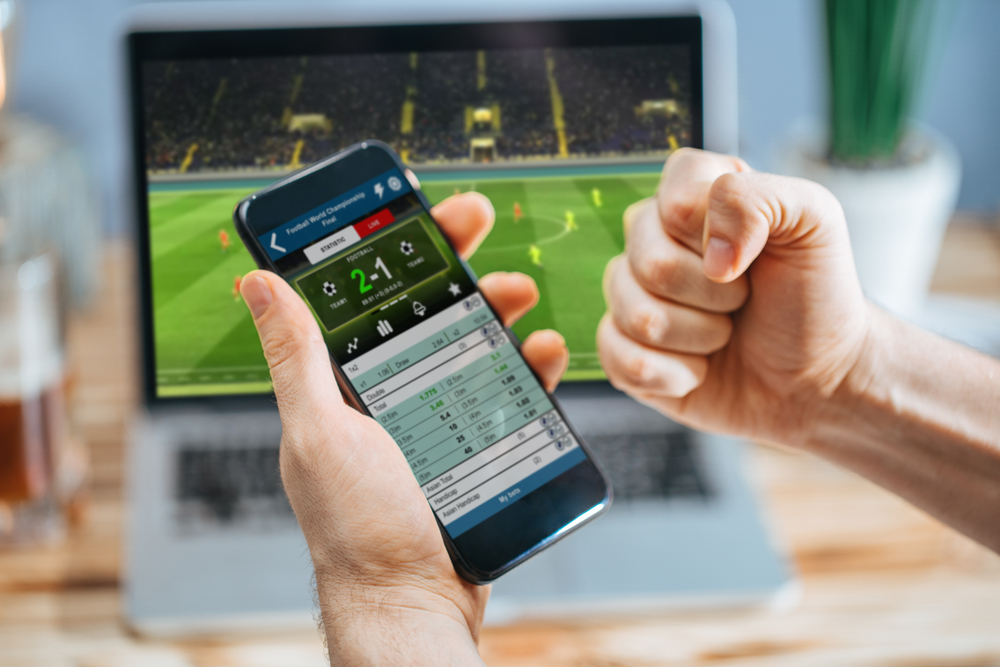 a sports betting win on mobile