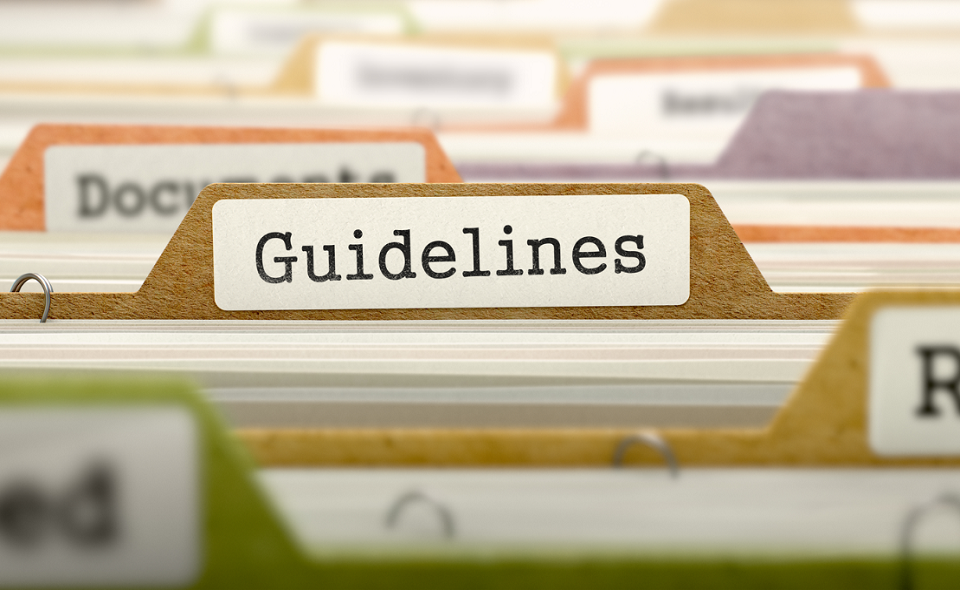 folder with 'Guidelines' label