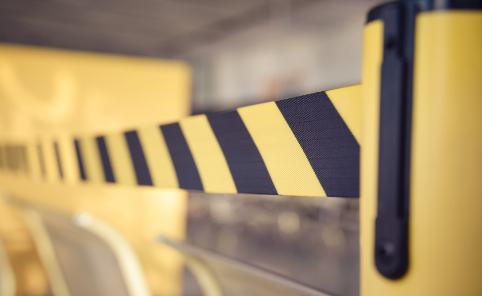 barrier tape for no entry