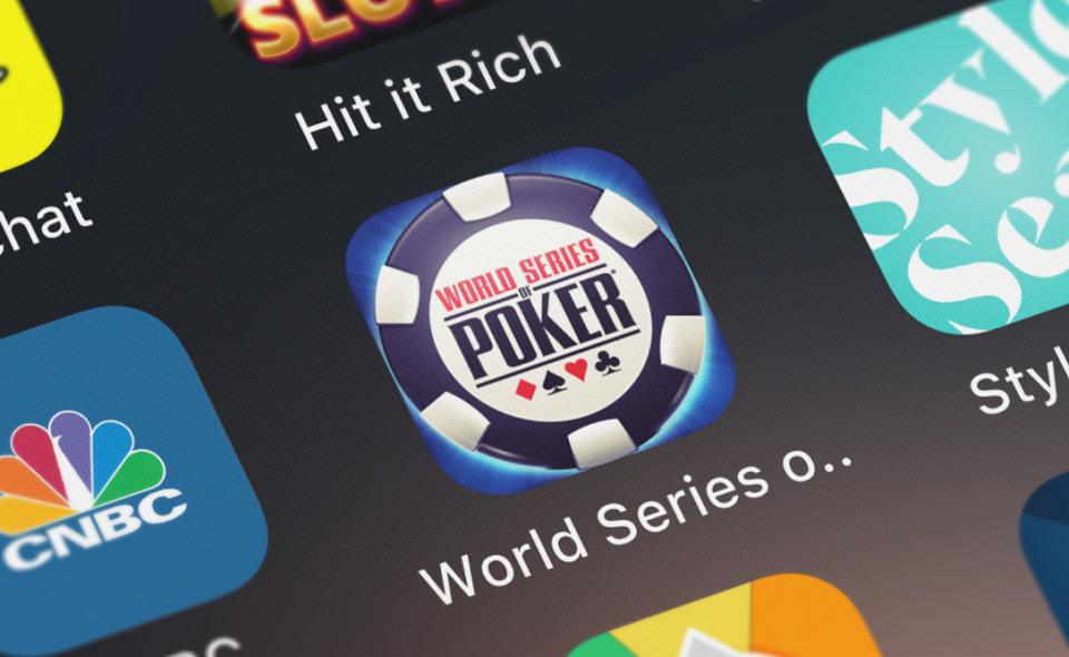 WSOP app icon