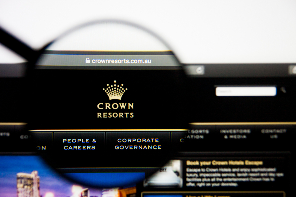 Crown Resorts website homepage
