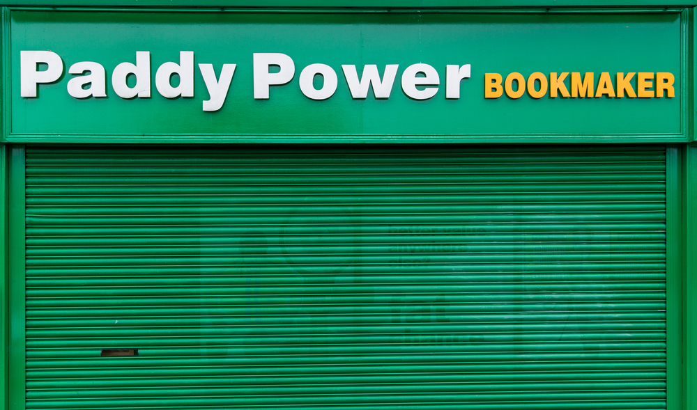 Paddy Power Bookmaker outlet