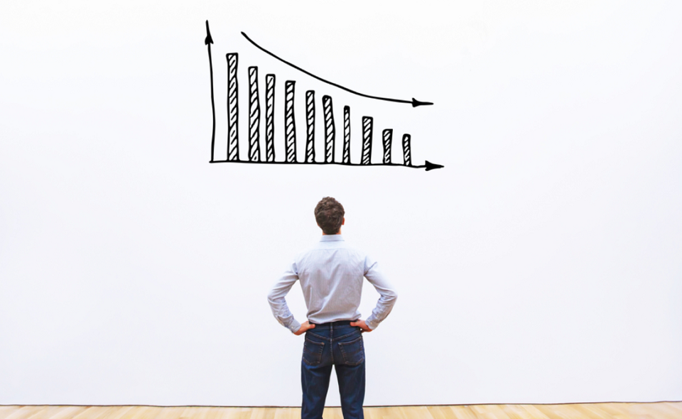 decrease of sales and profit,