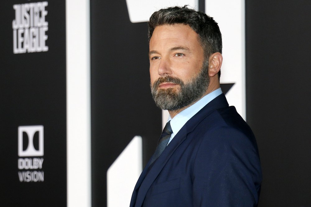 actor Ben Affleck in a suit