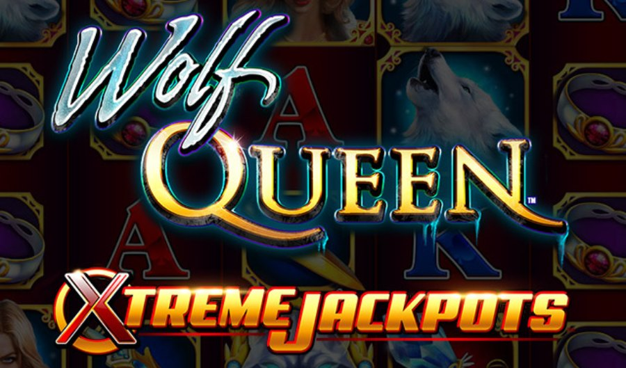 Wolf Queen Extreme Jackpots slot logo