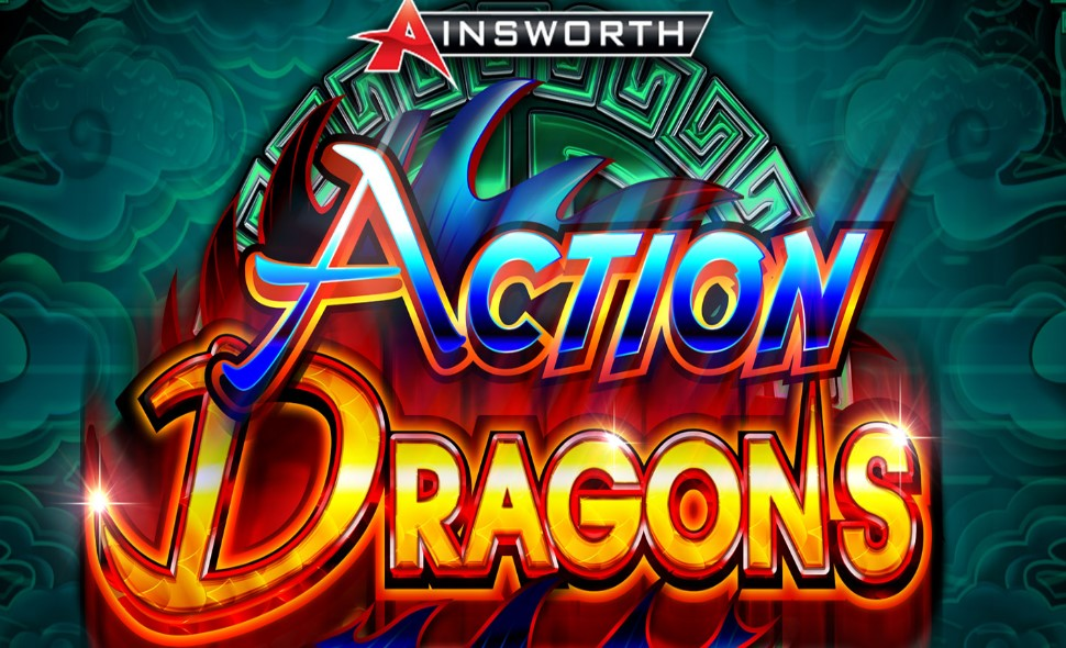 Action Dragons slot logo by Ainsworth
