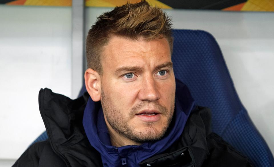 Nicklas Bendtner during UEFA Europa League soccer match