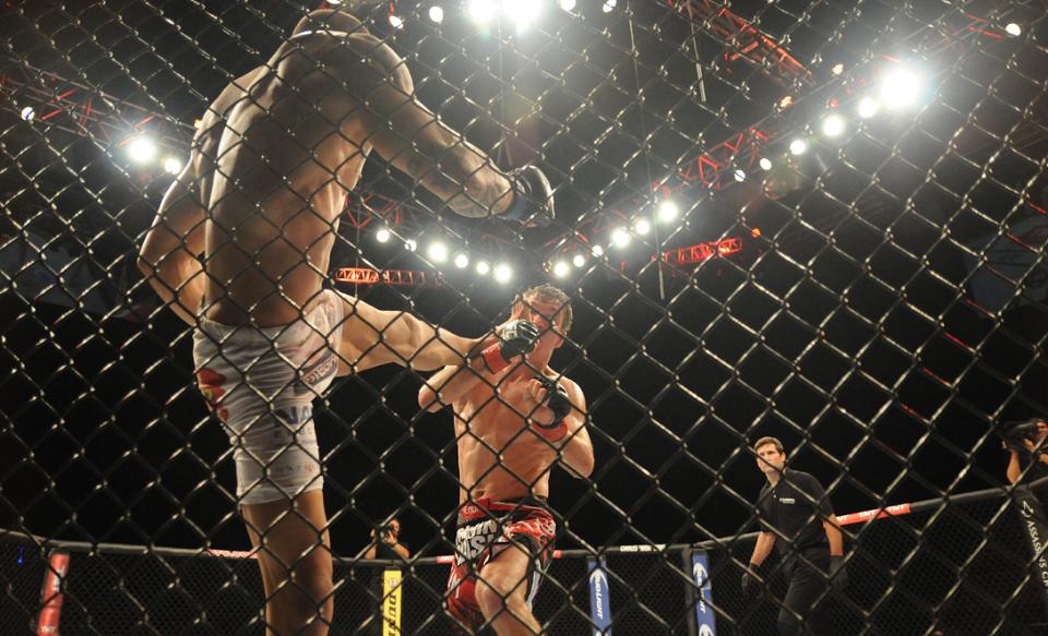 UFC 237 fight in Rio de Janeiro