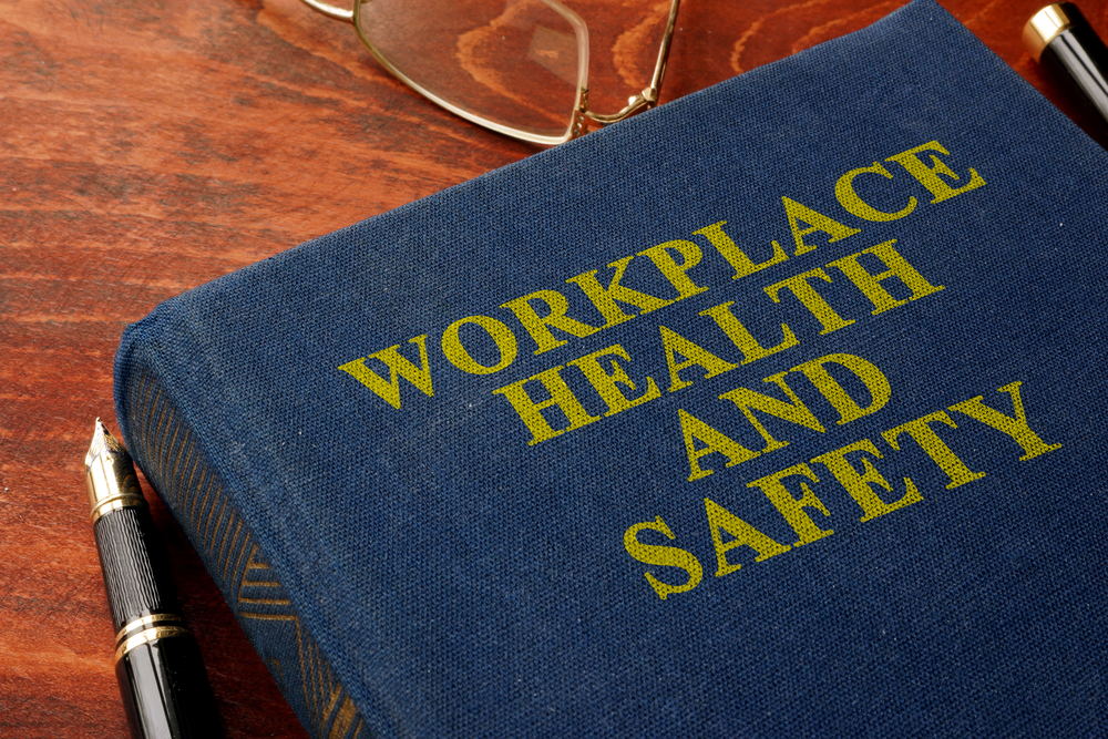 Workplace health and safety guide book