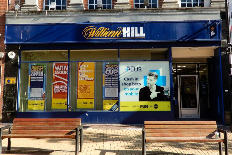 William Hill storefront