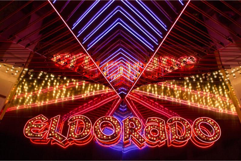 Eldorado neon sign