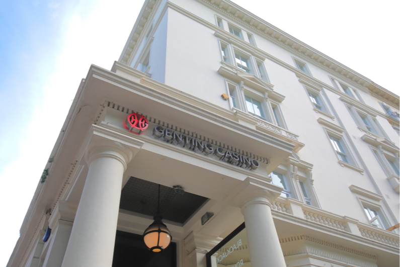 Genting Casino South Kensington London UK