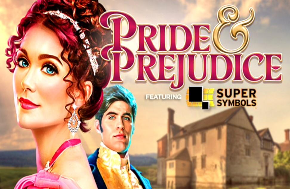 Pride & Prejudice slot logo by High 5 Games