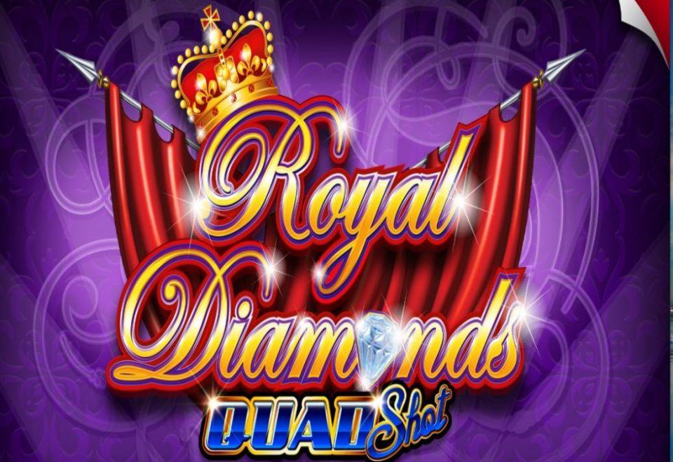 Royal Diamonds slot logo by Ainsworth