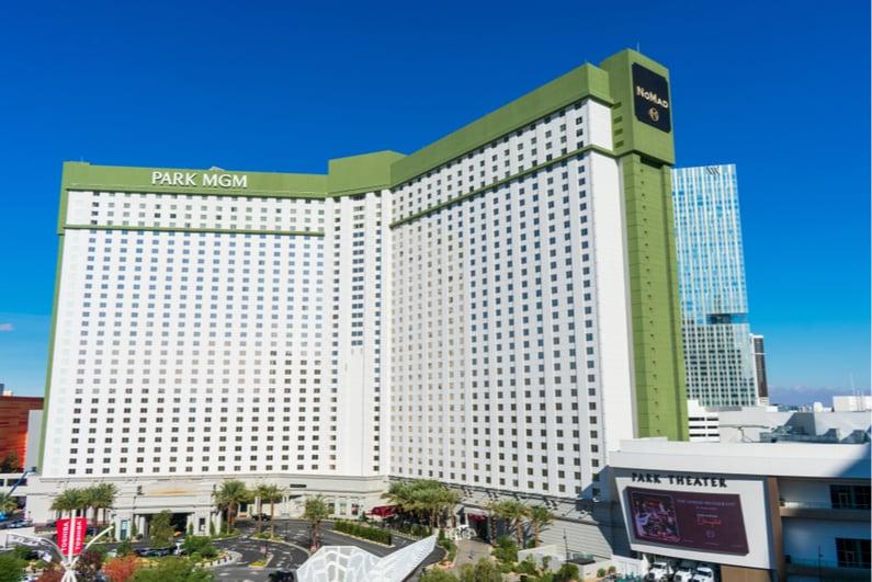 Park MGM casino in Las Vegas
