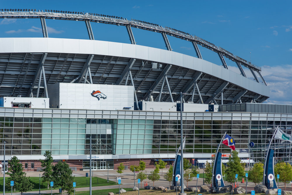 Mile High stadium in Colorado