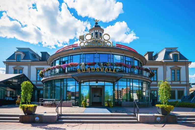 Casino Cosmopol in Sundsvall, Swesen
