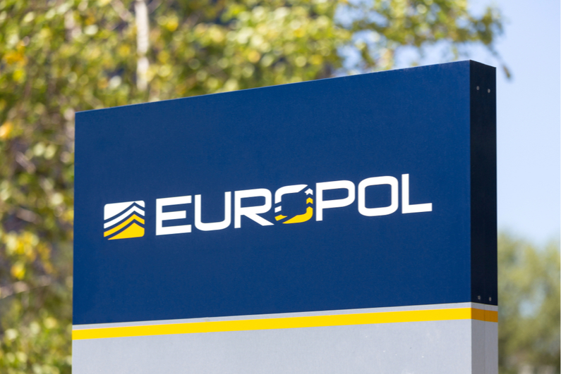 Europol sign