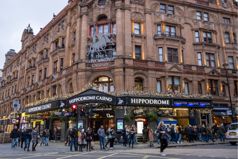 Internet casino guests return to this casino wars as Detroit's video gaming admission reopen Hippodrome-casino-London-day