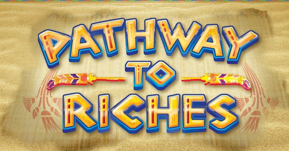 loading screen of the Pathway to Riches slot by Core Gaming