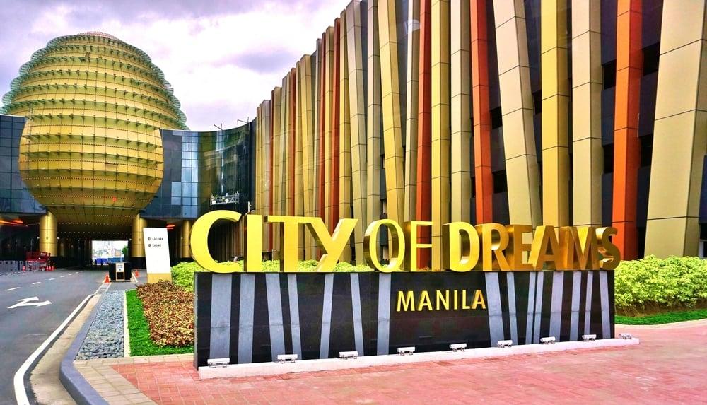 City of Dreams casino complex building in Manila