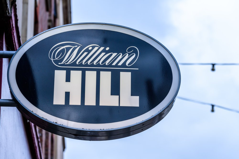 William Hill betting store sign