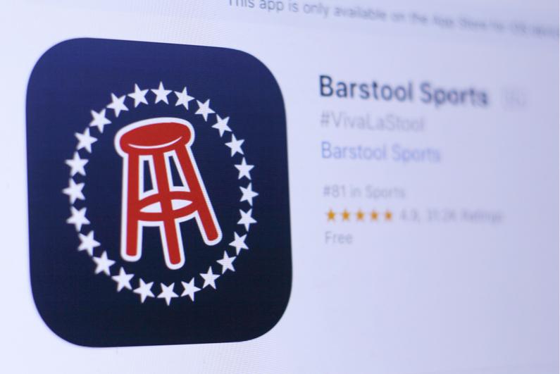 Barstool sports app icon screenshot