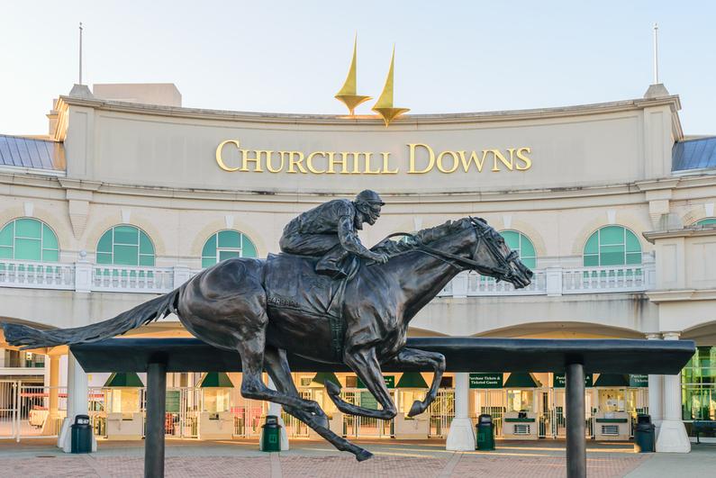 Chruchill Downs entrance