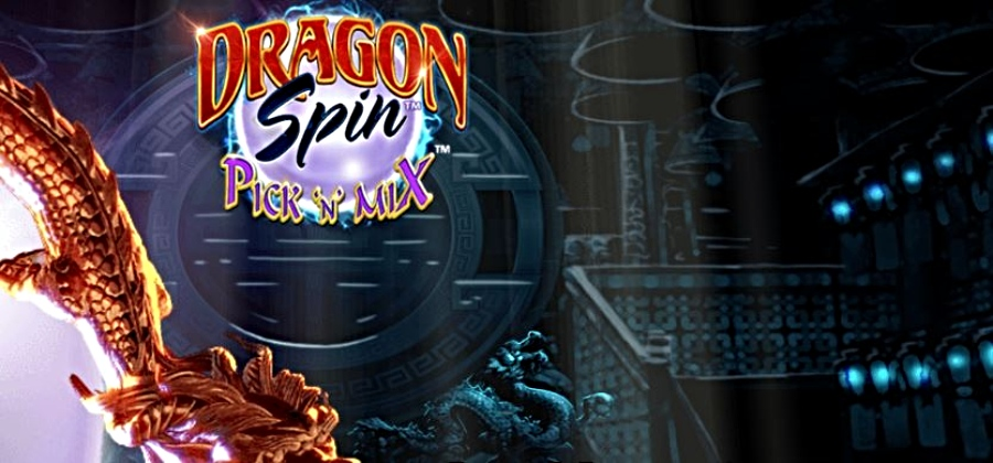 Dragon Spin Pick 'N' Mix slot title by Barcrest