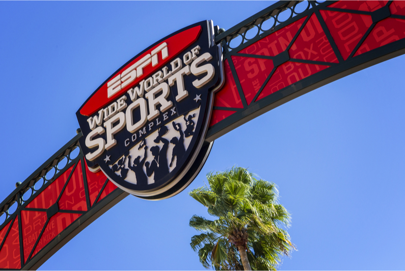 ESPN Wide World of Sports sign