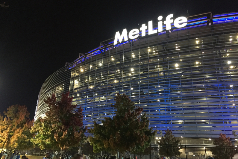 MetLife Stadium, home of the New York Giants