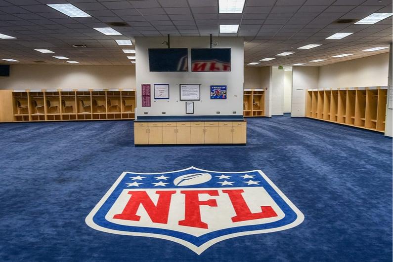 NFL locker room