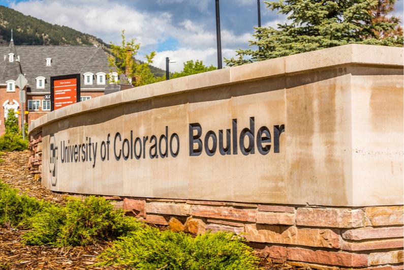 University of Colorado sign