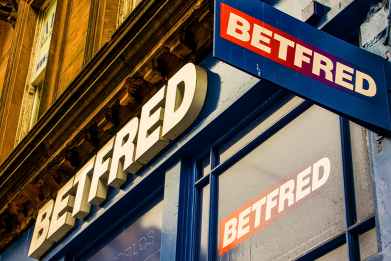 Betfred retail betting shop