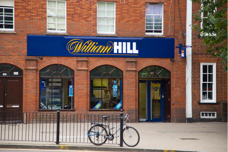 William Hill betting shop in the UK