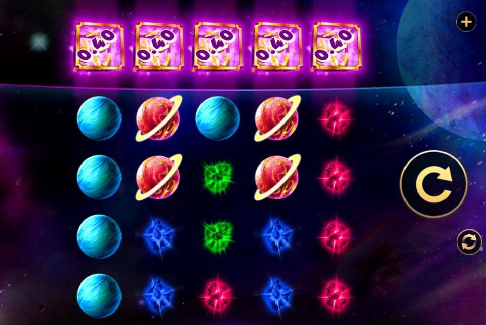 Cosmic Heart online slot by H5G