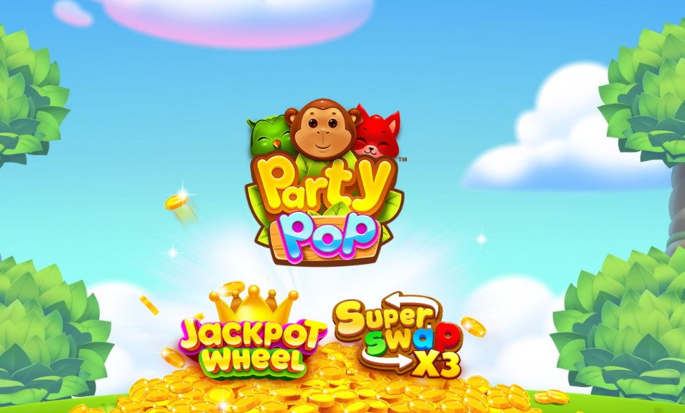 Party Pop slot title by Skywind