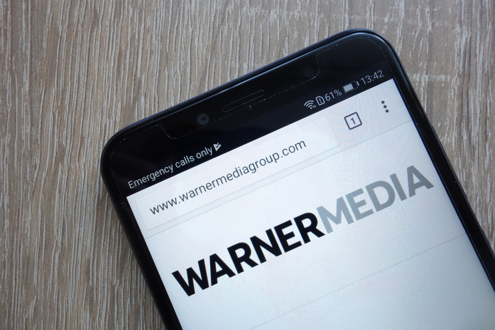 WarnerMedia url and website loading on cell phone