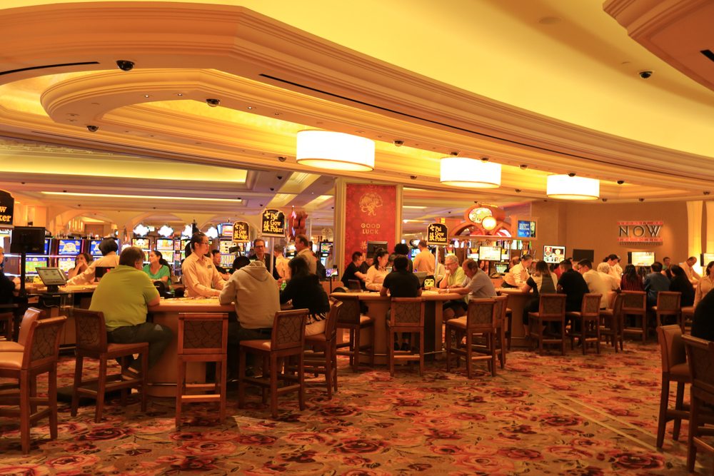 Borgata casino interior in Atlantic City