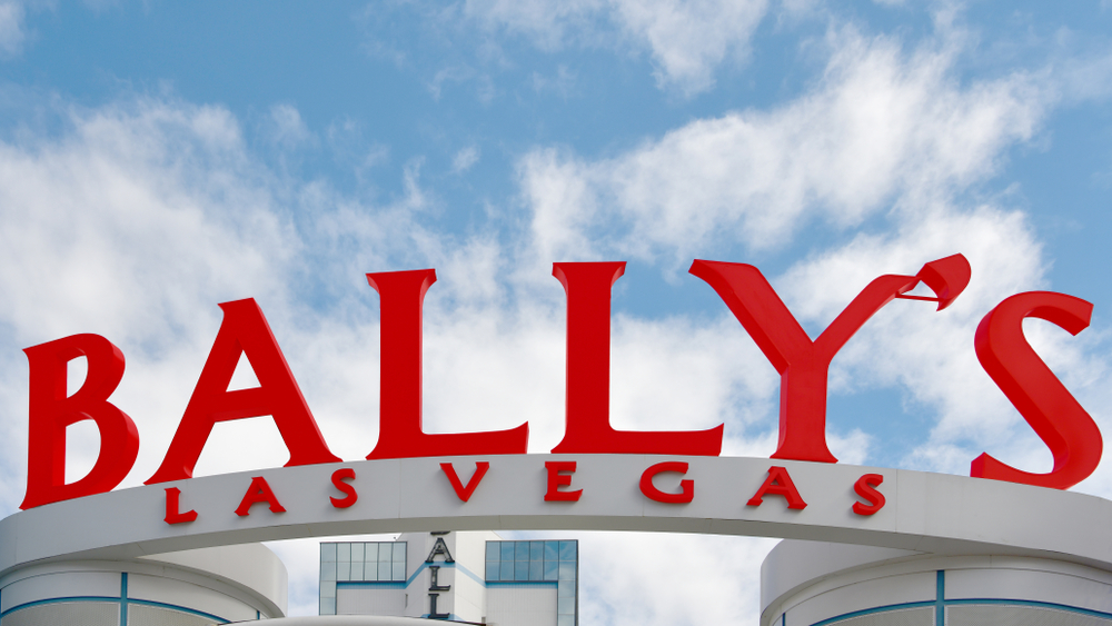 Bally's Las Vegas casino resort sign