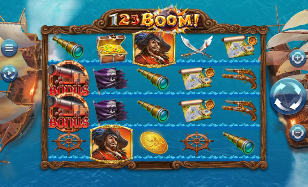 123 Boom! slot reels by 4ThePlayer