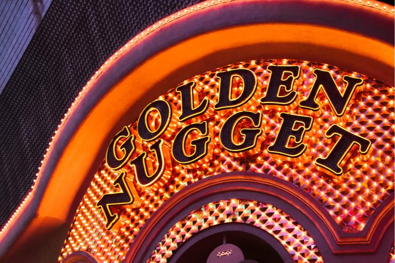 Golden Nugget sign