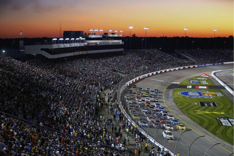 NASCAR race in Richmond, Virginia