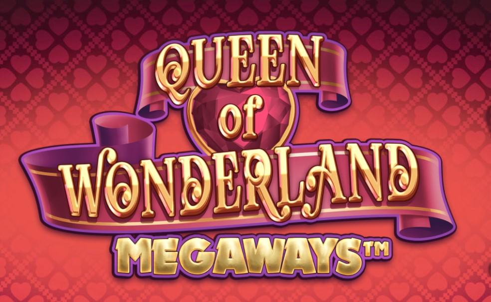 Queen of Wonderland Megaways slot logo by iSoftBet