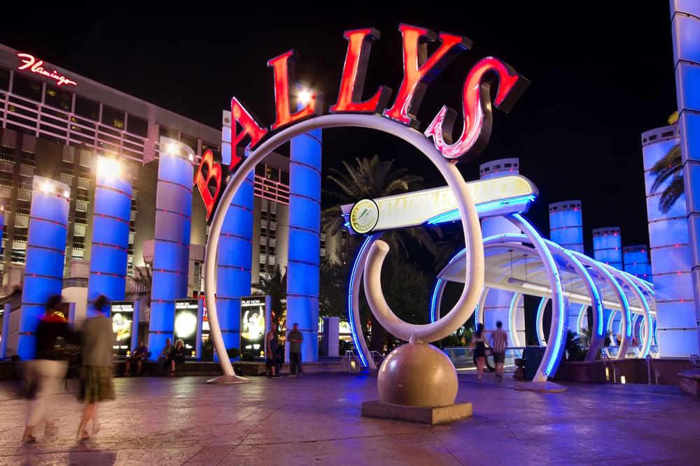 Bally's casino-hotel sign in Las Vegas