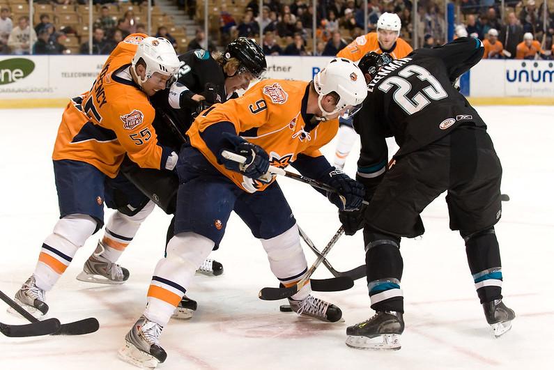 AHL hockey game