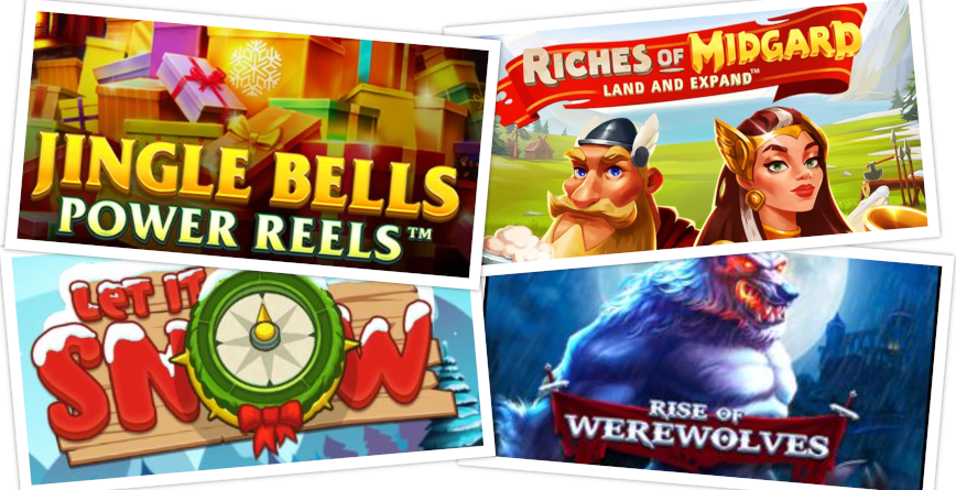 Slots of the Week feature December 11 2020