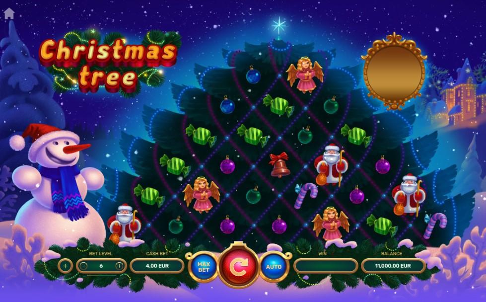 Christmas Tree slot reels by True Lab