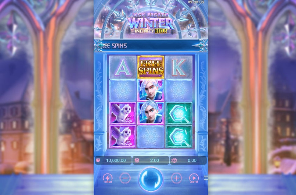 Jack Frost's Winter slot reels by Pocket Games Soft