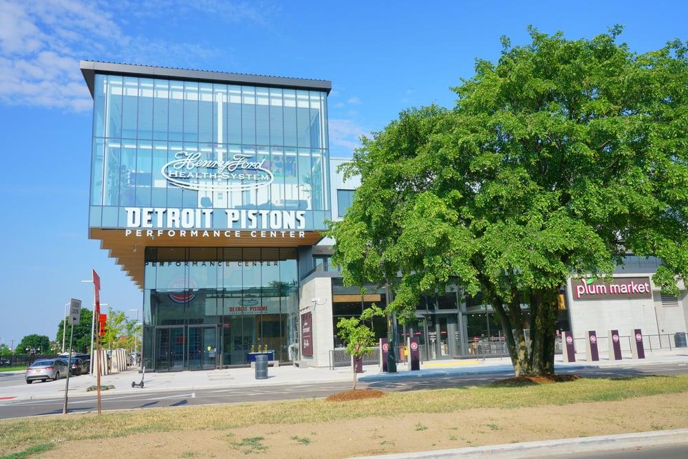 Detroit Pistons performance center